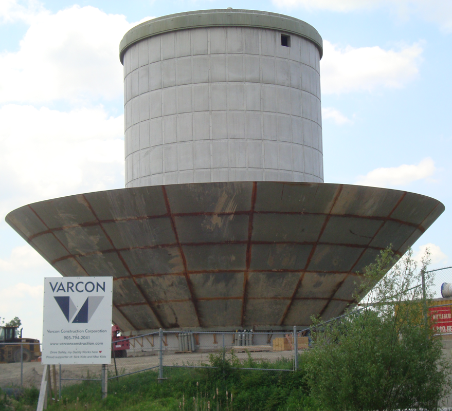 Elevated Water Tank : Bolton elevated water tank varcon construction